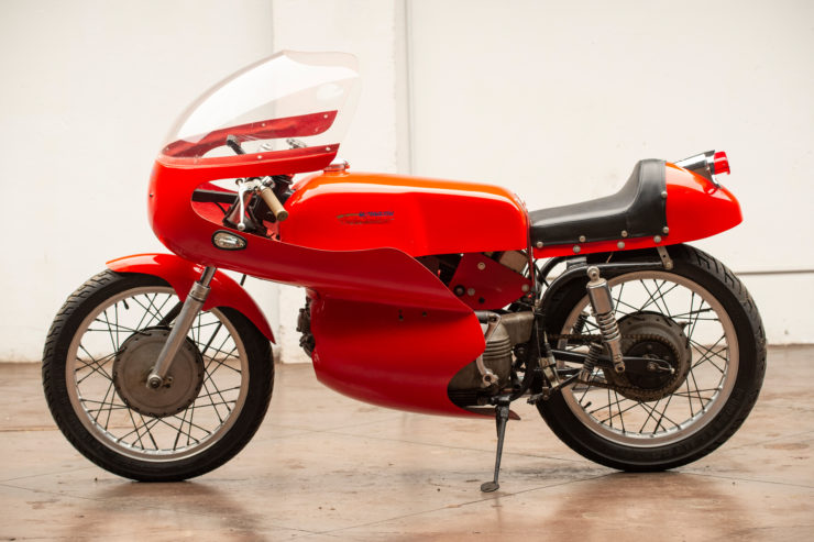 Harley-Davidson Aermacchi Race Bike Side 2