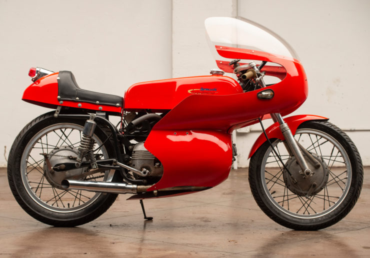 Harley-Davidson Aermacchi Race Bike Side