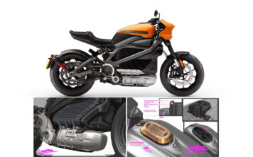 Harley-Davidson LiveWire Electric Motorcycle Main