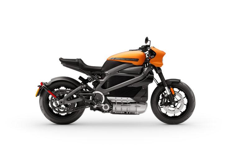 Harley-Davidson LiveWire Oramge 3