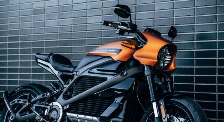 Harley-Davidson LiveWire Orange 4