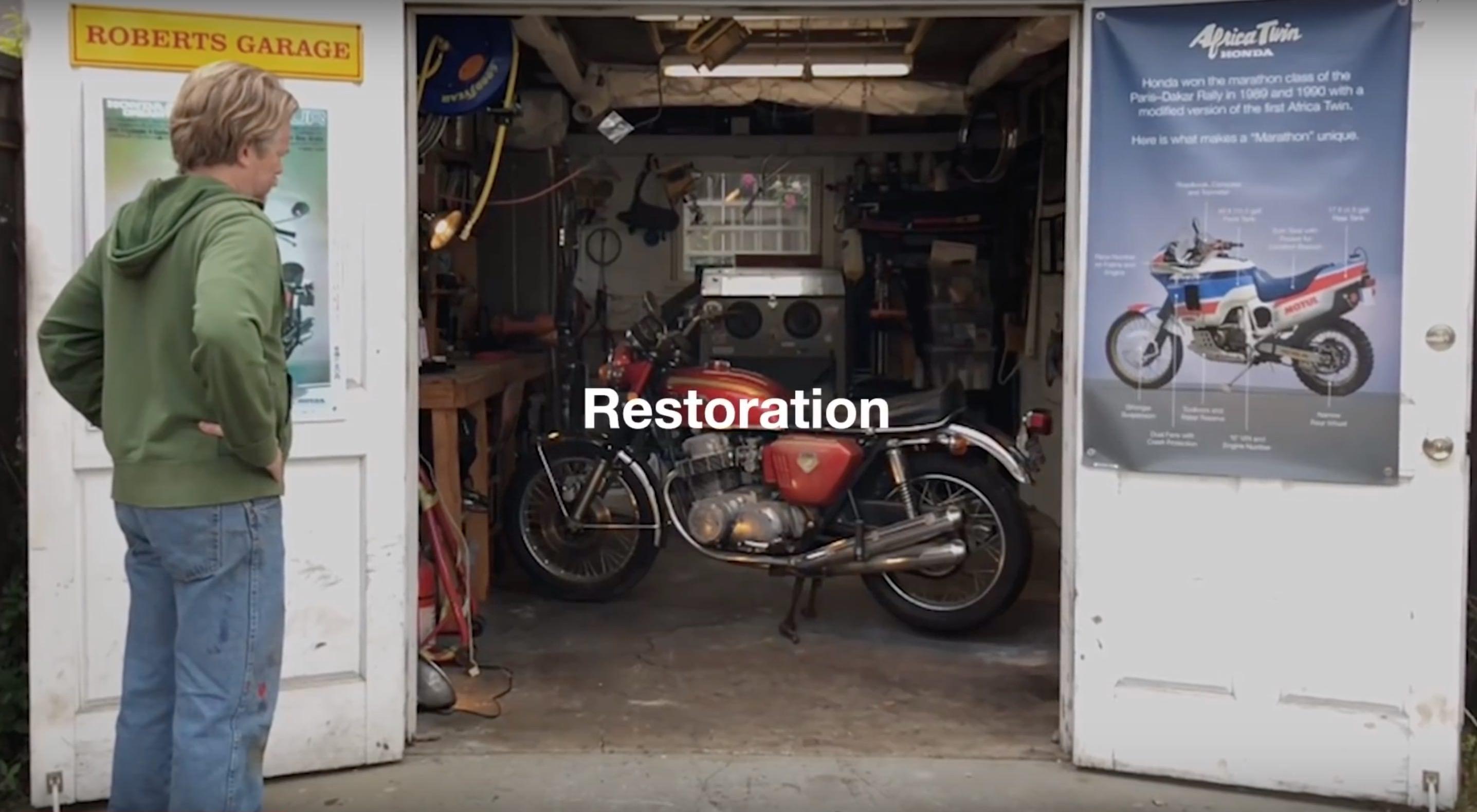 Honda CB750 Restoration