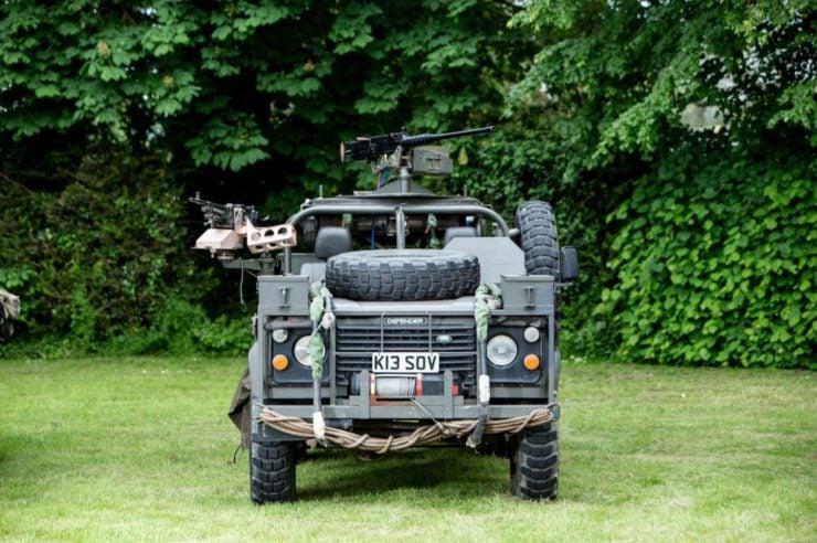 Land Rover Defender 110 V8 RSOV Front