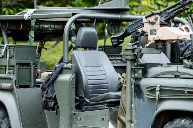 Land Rover Defender 110 V8 RSOV Seat