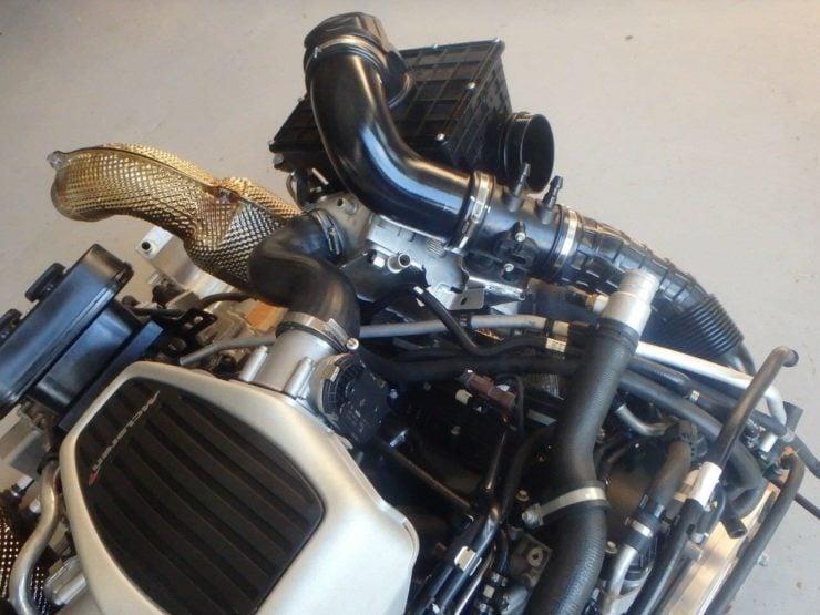McLaren 540C Twin-Turbo V8 8