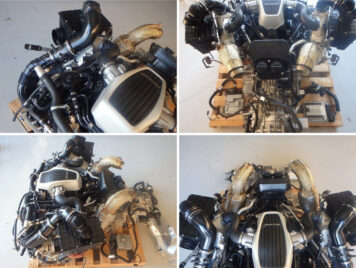McLaren 540C Twin-Turbo V8 Engine