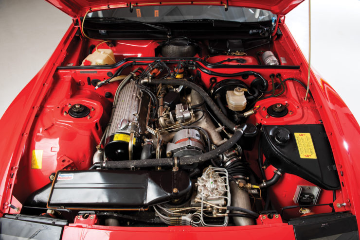 Porsche 924 Carrera GTS Clubsport Engine