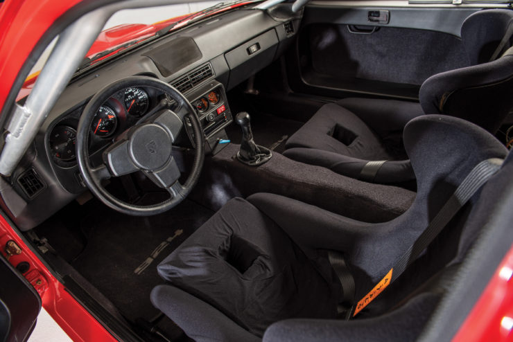 Porsche 924 Carrera GTS Clubsport Interior