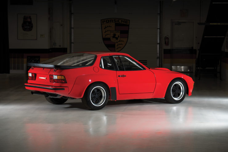 Porsche 924 Carrera GTS Clubsport Rear