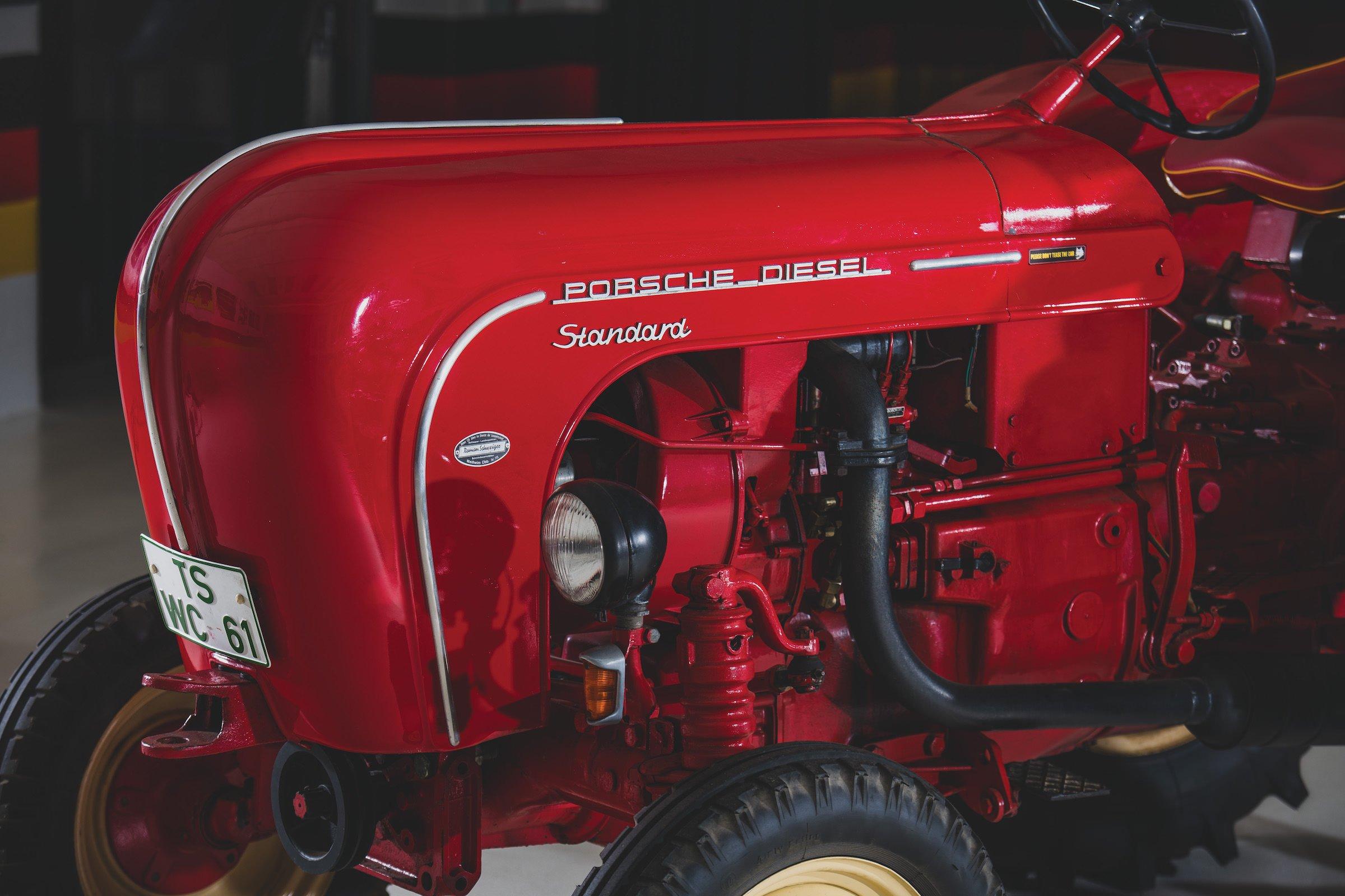 Porsche-Diesel Tractor Engine