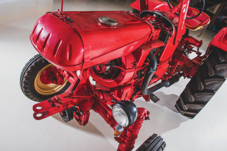 Porsche-Diesel Tractor Fuel Tank