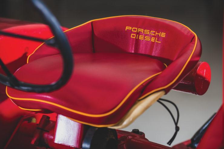 Porsche-Diesel Tractor Seat