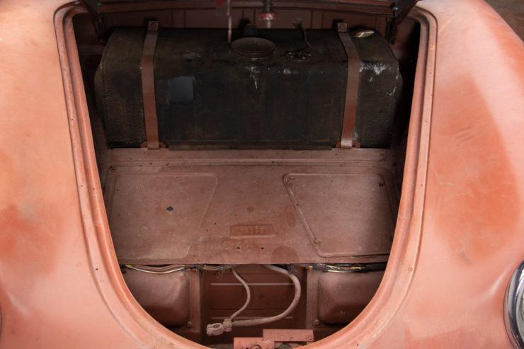 Porsche Speedster Frunk