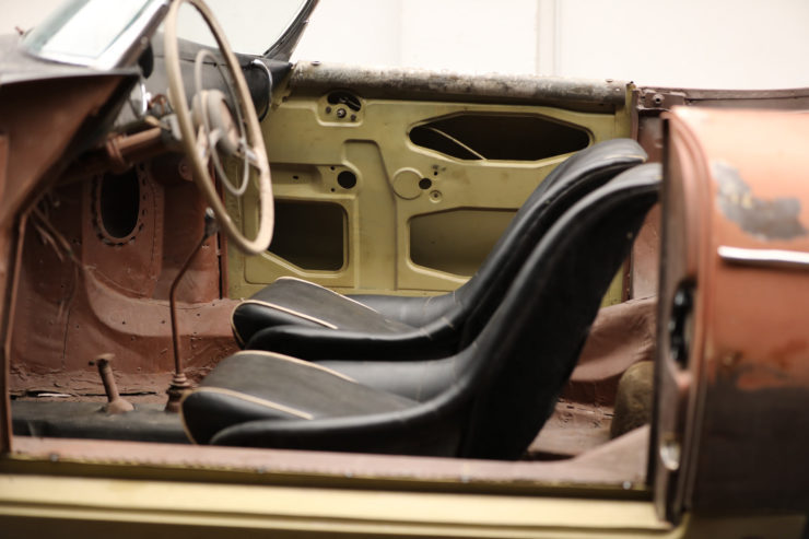 Porsche Speedster Seats