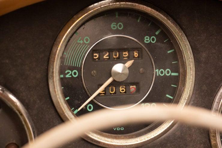 Porsche Speedster Speedometer