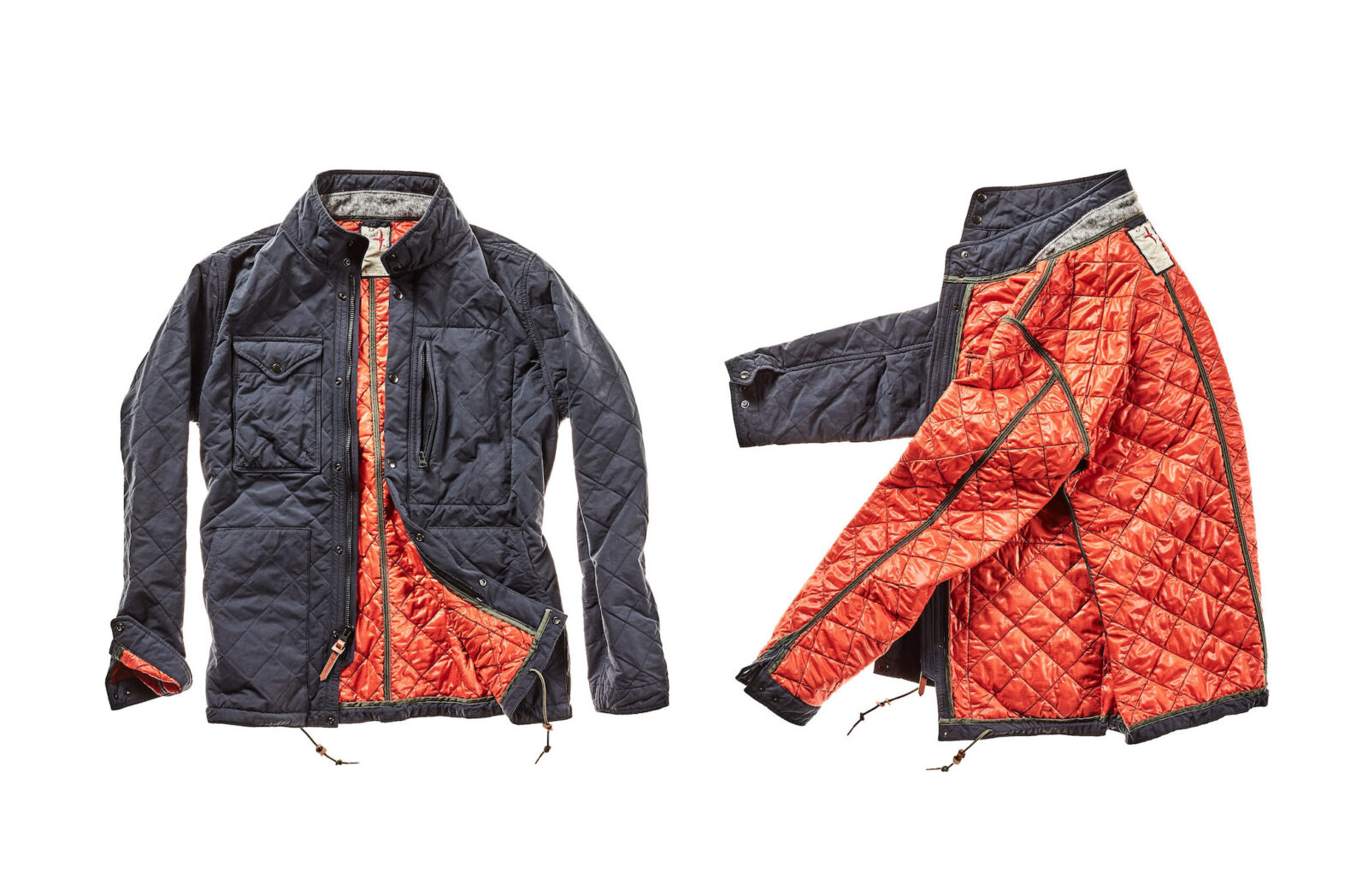 Relwen Quilted Tanker Field Jacket