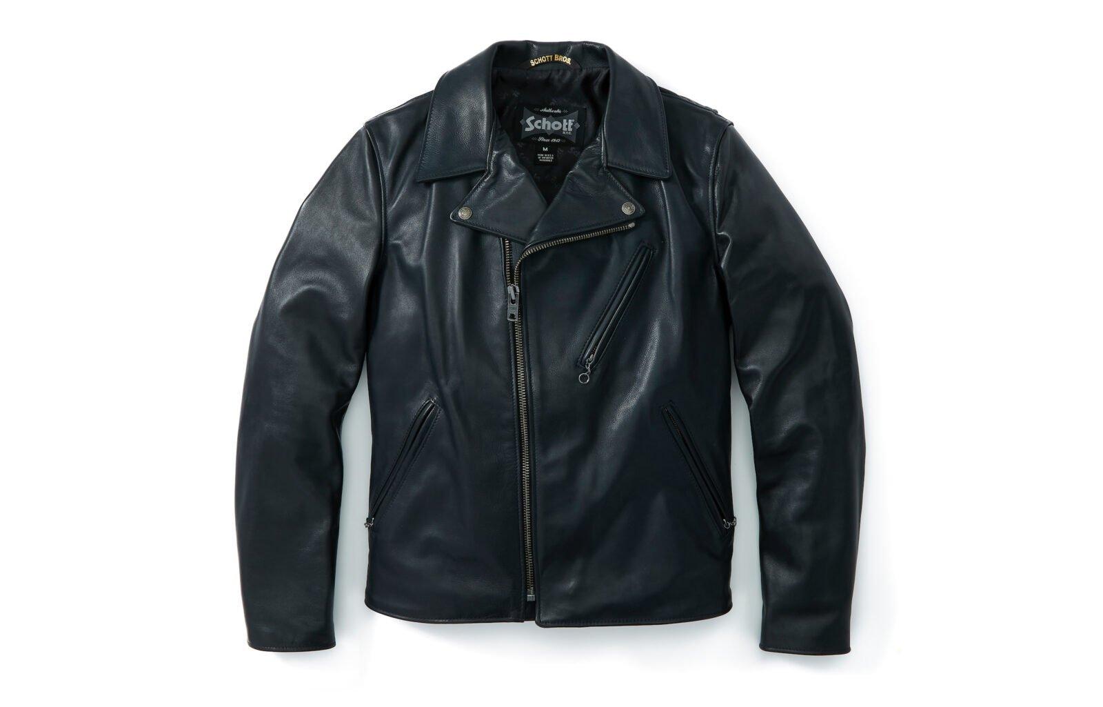 Schott Light Weight Cowhide Motorcycle Jacket