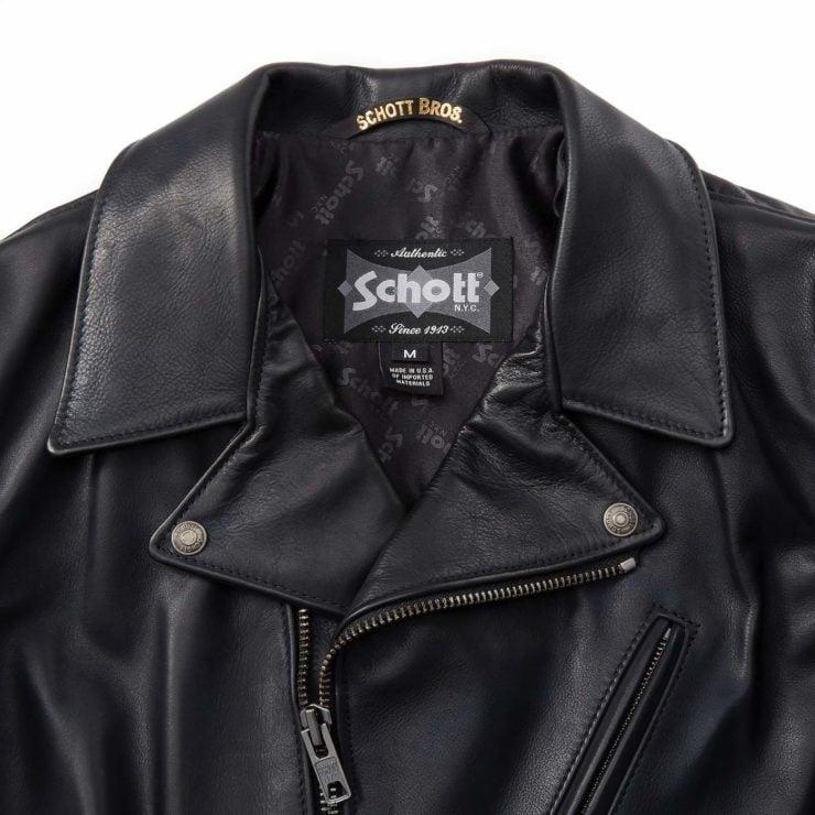 Schott Light Weight Cowhide Motorcycle Jacket 5