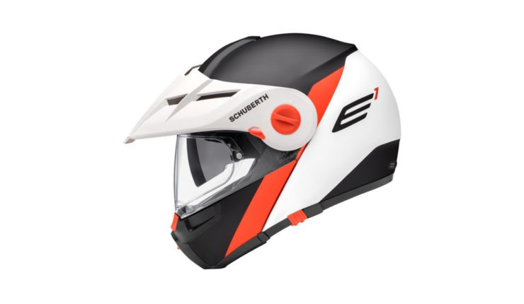 Schuberth E1 Gravity Helmet Orange