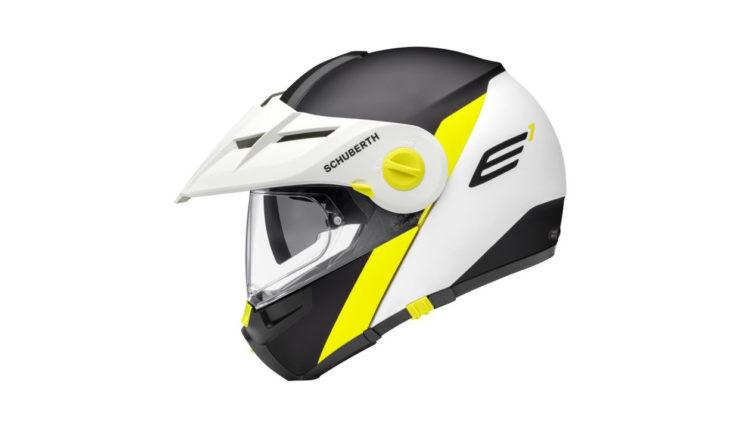 Schuberth E1 Gravity Helmet Yellow