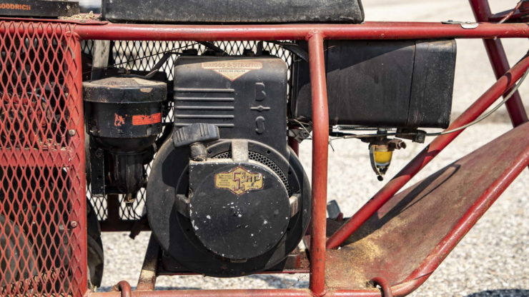 Tote Gote Briggs and Stratton Engine