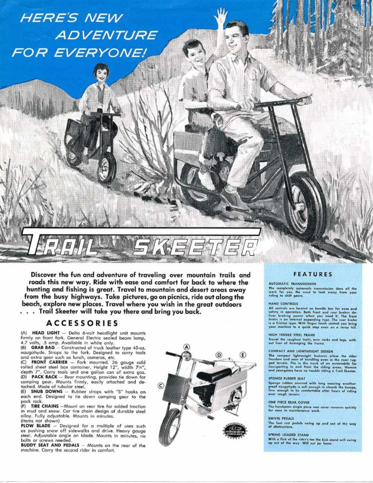 Tote Gote TrailSkeeter