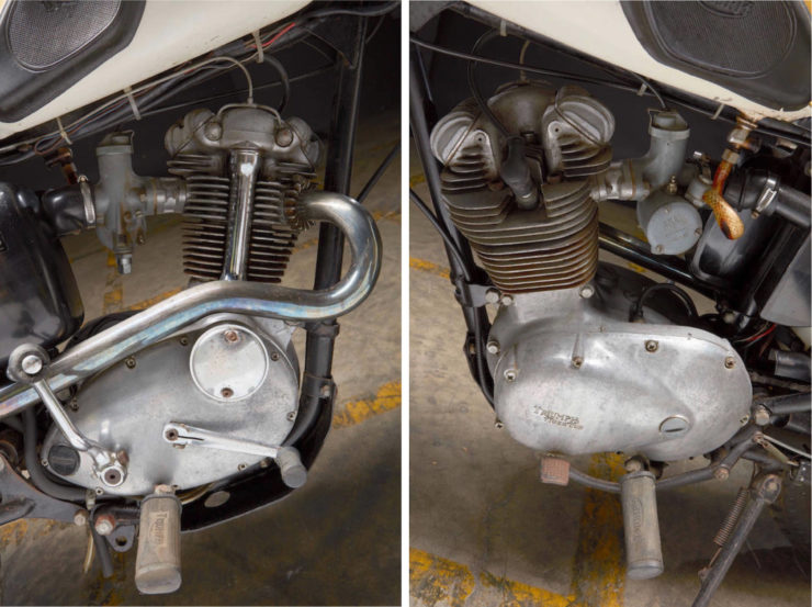 Triumph Mountain Cub Engine