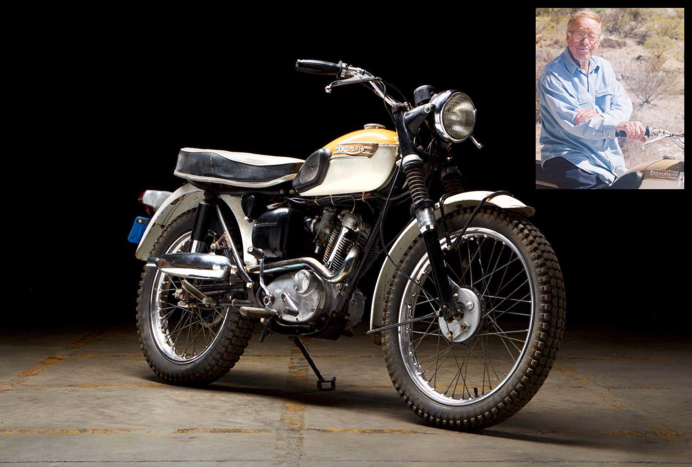 Triumph Mountain Cub Motorcycle