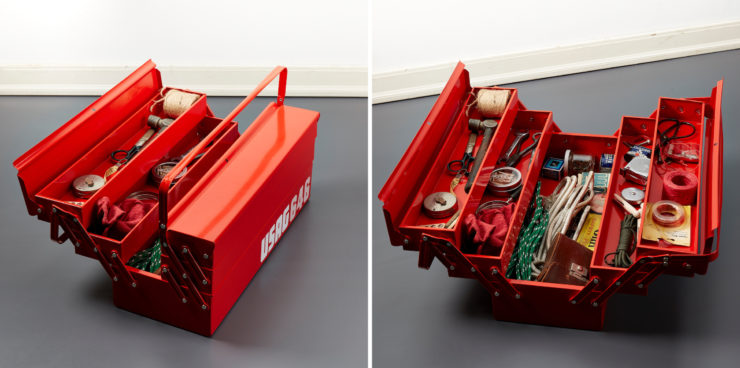 USAG Workman's Toolbox Half Open