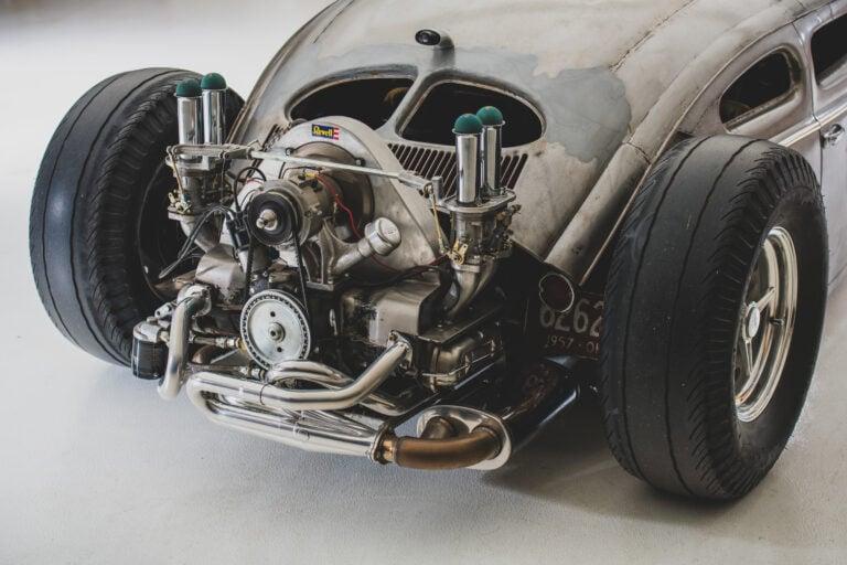 "The Wild Volkswagen Beetle Outlaw ""Death"" by Franz Muhr"