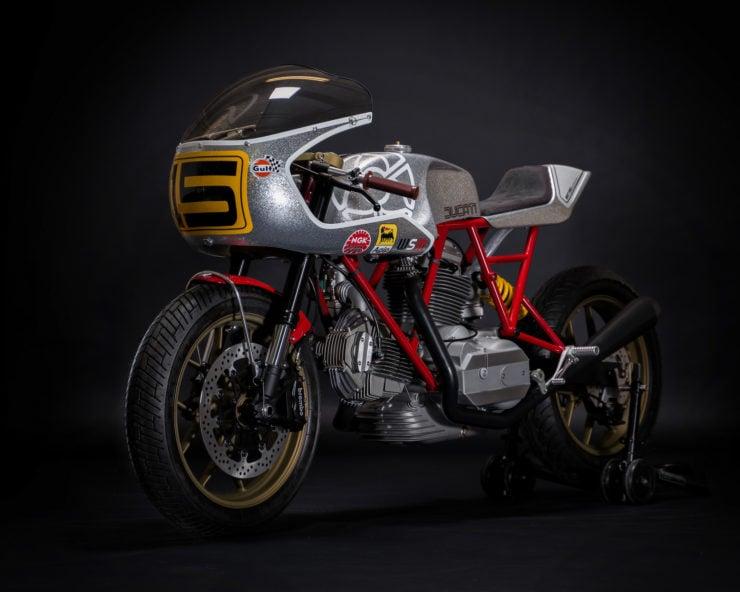 Walt Siegl Motorcycles Bevel Ducati Custom 4