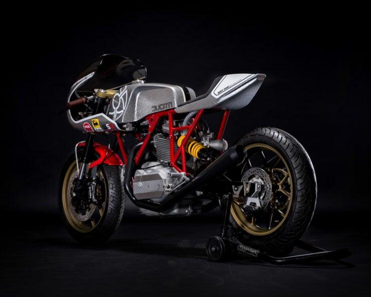 Walt Siegl Motorcycles Bevel Ducati Custom 5