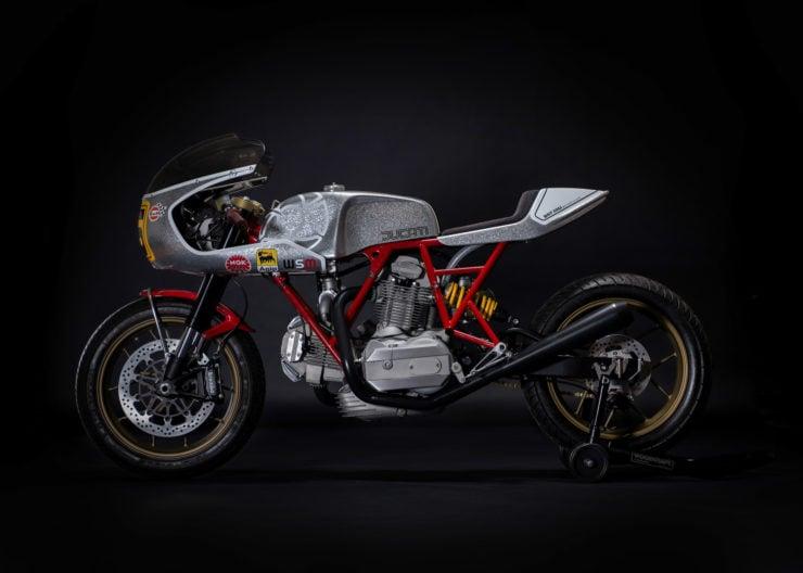 Walt Siegl Motorcycles Bevel Ducati Custom Side