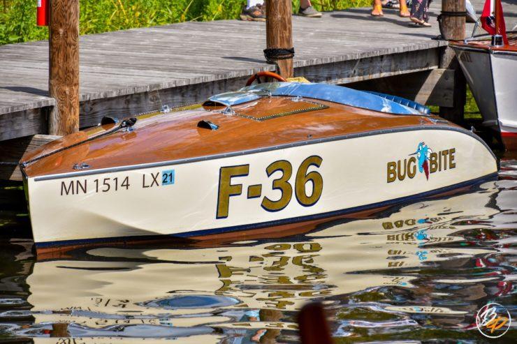 Wooden Mahogany Runabout Boat 4