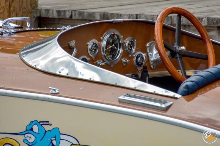 Wooden Mahogany Runabout Boat 5