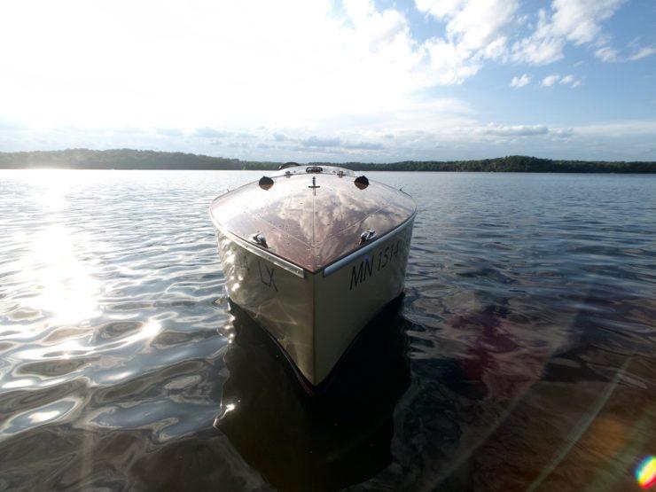 Wooden Mahogany Runabout Boat 7