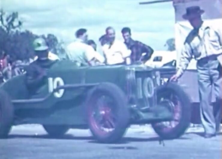 1946 New South Wales Grand Prix MG