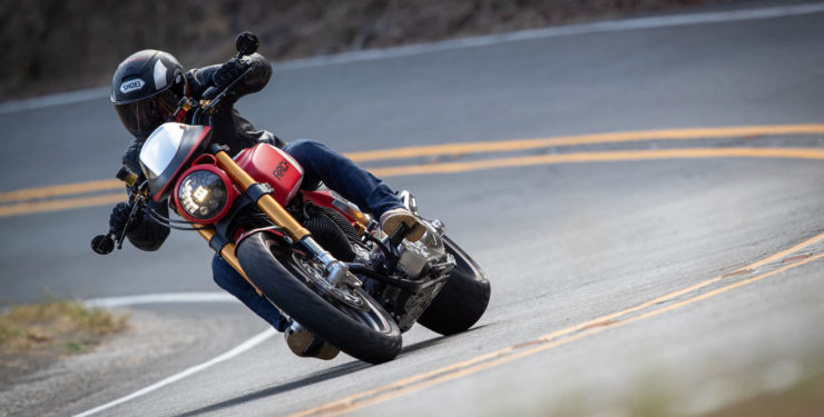 Arch Motorcycle KRGT-1 Action 3