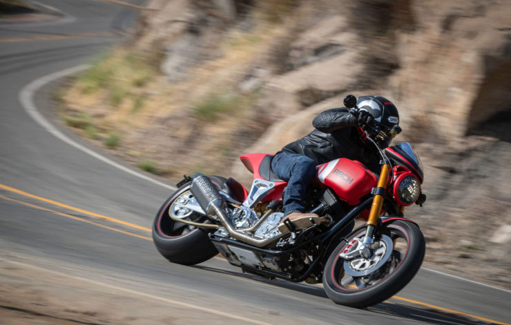 Arch Motorcycle KRGT-1 Action