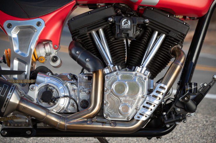 Arch Motorcycle KRGT-1 Engine 3