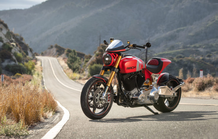 Arch Motorcycle KRGT-1 Front