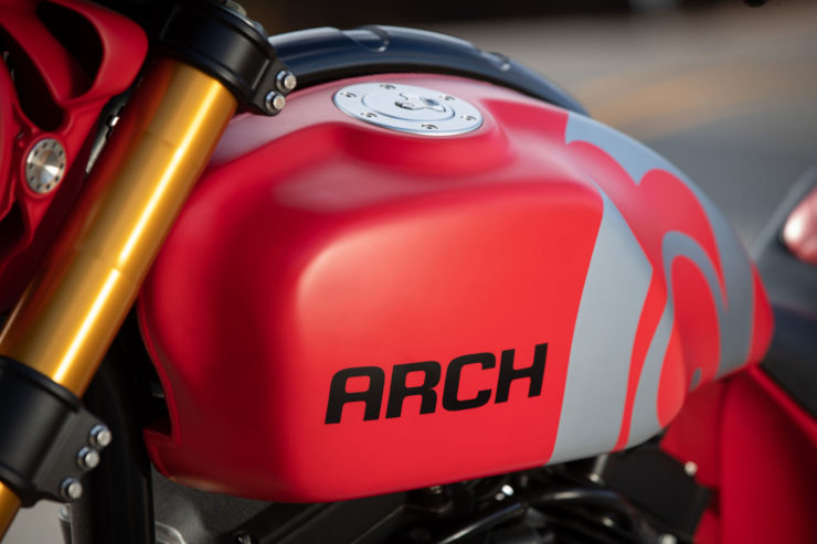 Arch Motorcycle KRGT-1 Fuel Tank