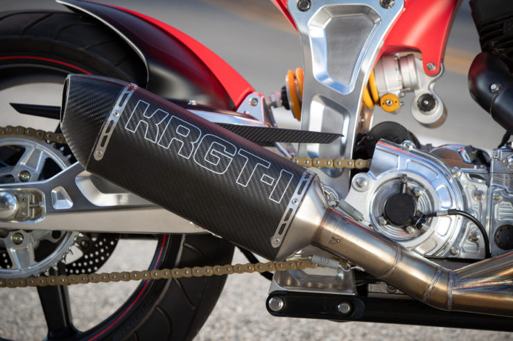 Arch Motorcycle KRGT-1 Yoshimura Exhaust