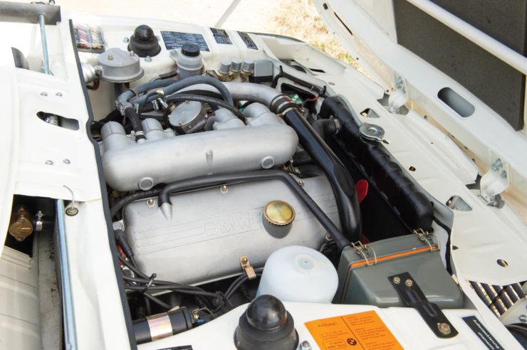 BMW 2002 Turbo Engine Bay