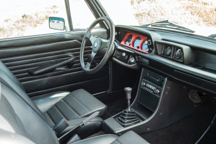 BMW 2002 Turbo Interior