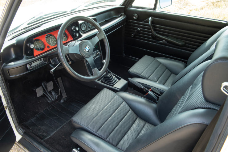 BMW 2002 Turbo Seats