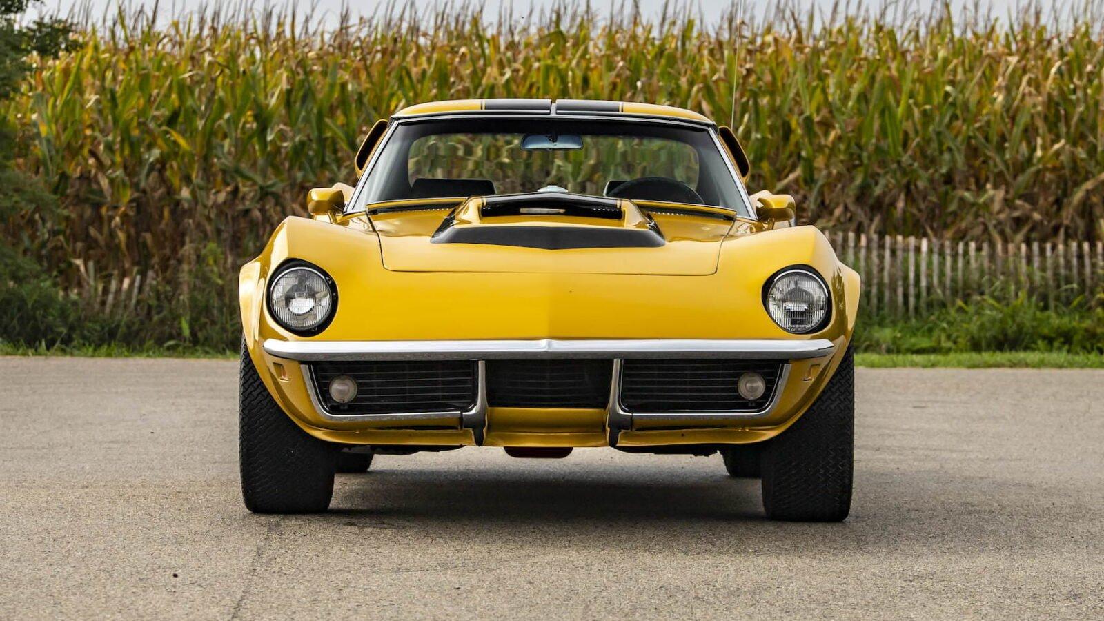 Baldwin Motion Phase III GT Corvette Front