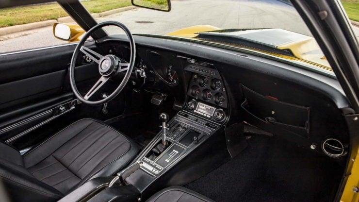 Baldwin Motion Phase III GT Corvette Interior 2