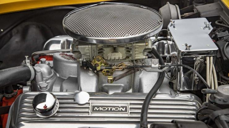 Baldwin Motion Phase III GT Corvette V8 Engine