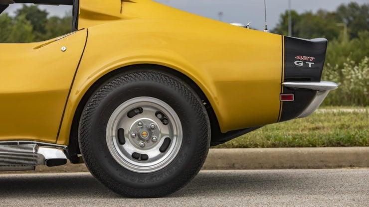 Baldwin Motion Phase III GT Corvette rear Wheel